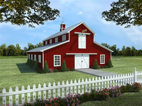 country barn plans barclay country barn apartment plan 124d 7504 house