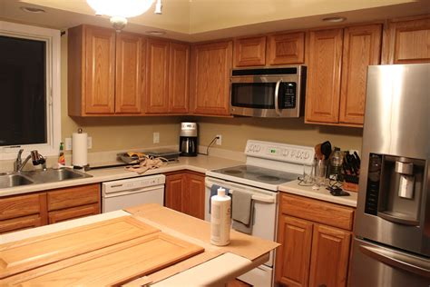 how to stain oak cabinets darker without sanding how to paint oak kitchen cabinets without sanding home