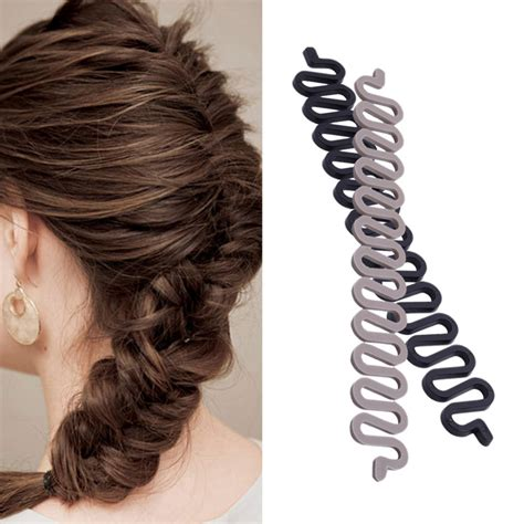 How To Use Hair Styling Tools by ᗑ 1pc New Roller Hair ᗐ Styling Styling Tools Weave Braid