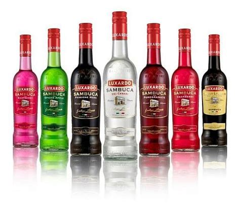 alcoholic drinks brands alcoholic drinks two flavours of sambuca