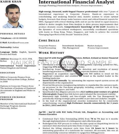 Sample Resume Format For Uae Jobs by Cv Format Cv Samples Resume Format Naukrigulf Com