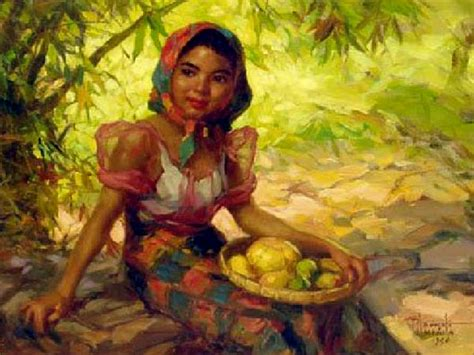 angelus paint in philippines fernando amorsolo the national artist talambuhay