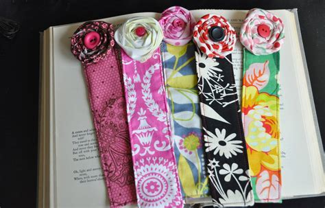 Handmade Fabric Bookmarks - beautiful handmade bookmarks appreciation skip