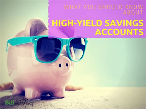 best high yield savings high interest savings accounts what you should