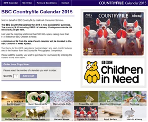 Countryfile Calendar Purchase Underwater Photography Bsoup News October 2014