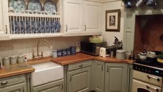 Painted Wooden Kitchen Cabinets Hand Painted Kitchens In Nottingham Furniture