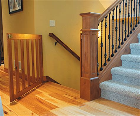 Baby Gates For Banister Custom Safety Gates For Milwaukee Wauwatosa Racine And