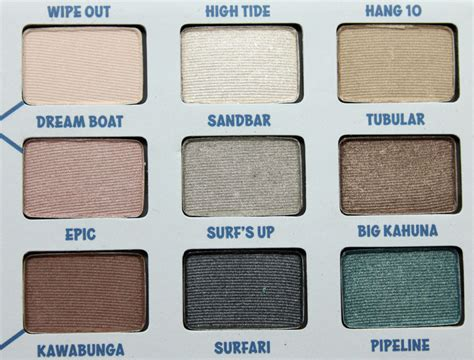 The Balm Balmsai Pallette thebalm balmsai eyeshadow and brow palette vy varnish