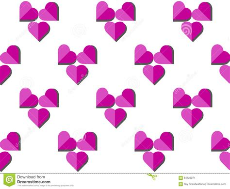 seamless heart pattern vector heart vector seamless pattern on white background