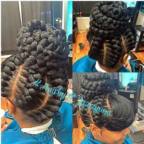 curls from goddess braids underbraids goddess braids curls buns braids bobs