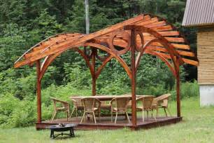 Curved Gazebo Roofs by Gorgeous Gazebos For Shade Tastic Outdoor Living By Garden Arc