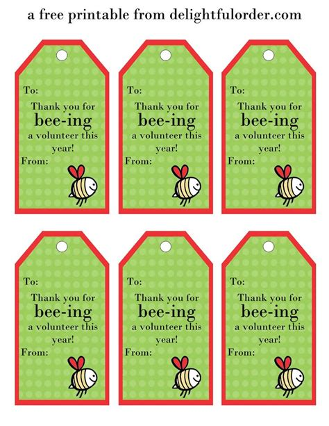 printable gift tags for employee appreciation 25 best ideas about volunteer gifts on pinterest