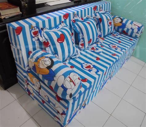 Doraemon Biru sofa ranjang inoac doraemon putih biru dtfoam