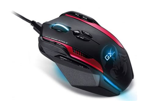 Mouse Gaming Macro by Genius Gila Professional 12 Button 72 Macro Gaming Mouse