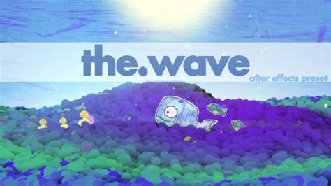 The Wave Free After Effects Preset Vfx Bro Split Layer After Effects Template