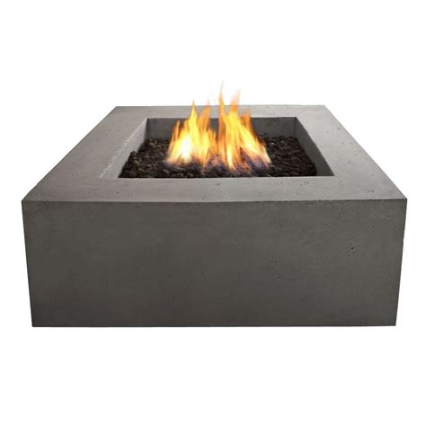 Outdoor Gas Firepits Bond Manufacturing Mondavi 36 In Envirostone Propane Pit 67504 The Home Depot