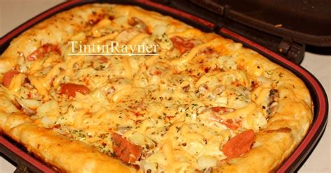 Teflon Happy Call resep pizza teflon happycall praktis empuk no telur oleh