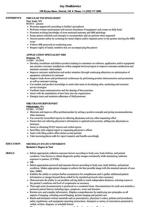 Datastage Developer Resume Exle by Mri Resume Sles Velvet