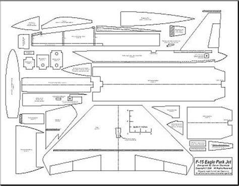 aeromodelli di carta volanti f 15 3d volo rc aeromodellismo