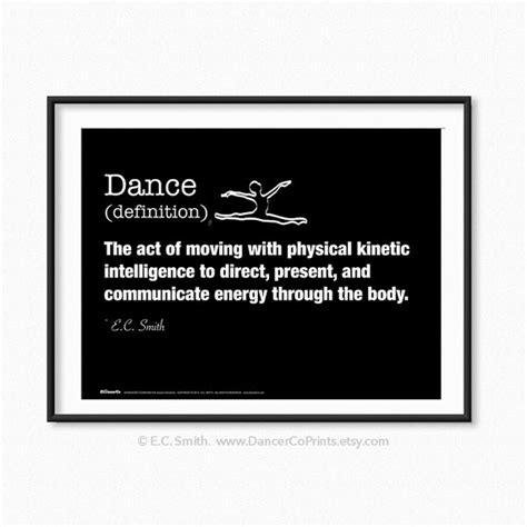 Layout Definition Dance | dance definition dancers dance print dancer gift by