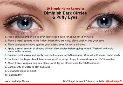 10 Ways To Prevent Getting Eye Circles by 10 Simple Home Remedies To Get Rid Of Eye Circles And