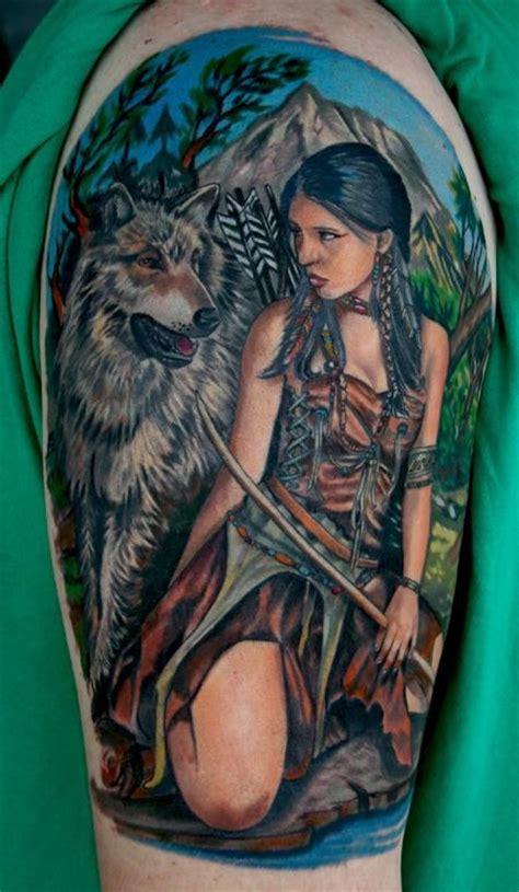 Tatuagens De Lobo Wolf Tattoos Tattoos My American Indian Wolf Tattoos