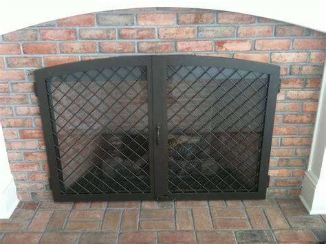 Fireplace Enclosure by Eurometalsmiths Fireplace Doors