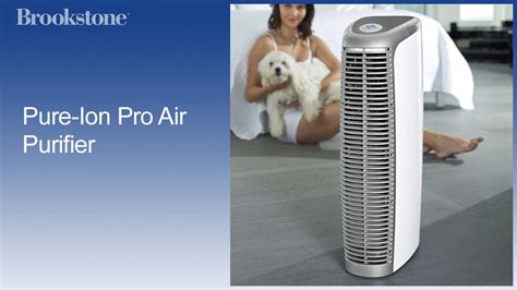 pure ion pro air purifier youtube