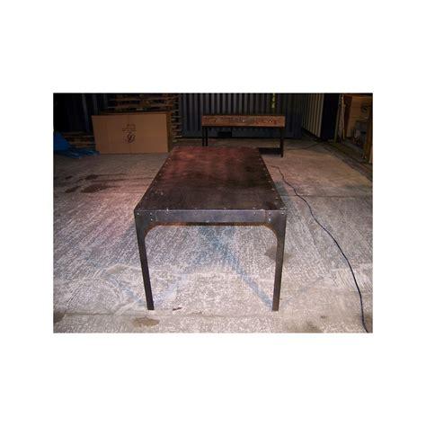 Table En Fer Industriel by Table En Fer Style Industriel Jp2b D 233 Coration