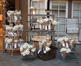 shabby chic wedding supplies favor displays on favors wedding favors and