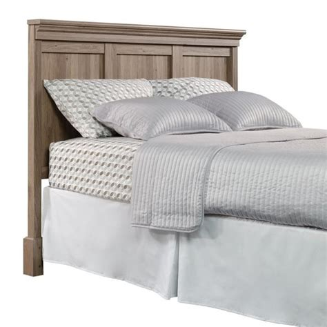 queen oak headboard queen headboard in salt oak 419249