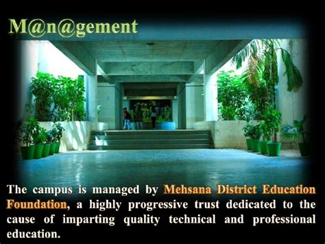 Ganpat Mba Ahmedabad by Cms Low Res Centre For Management Studies Ganpat