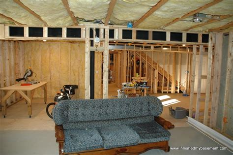 framing basement walls design preperation and execution