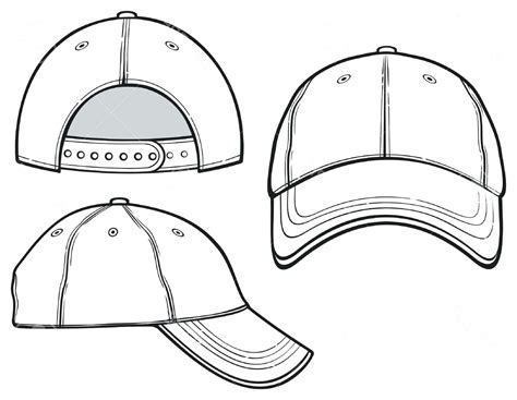 Baseball Cap Design Template Arts Arts Cap Design Template