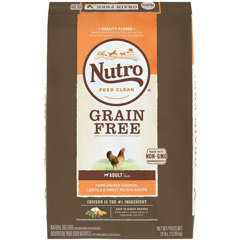 petco grain free food nutro grain free chicken lentils food petco store