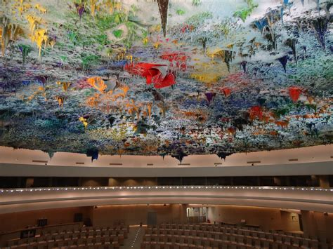 The ceiling of the UN?s palace of nations, Geneva : pics