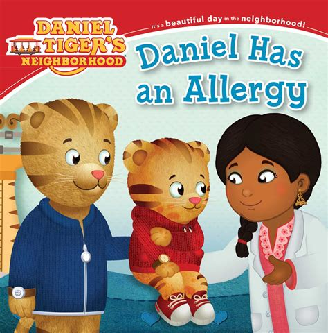 daniel has an allergy book by angela c santomero jason
