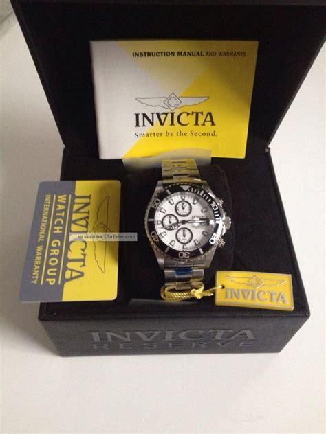 Fossil Chronograph Herren 1007 by Invicta Pro Diver 1007 Chronograph Herren Ovp Automatik
