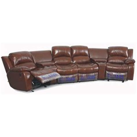 Manwah Furniture by Cheers Sofa Xw8251n Motion 4 Person Theater Seating With