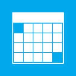 Calendar windows 8 metro style icon2s download free web icons