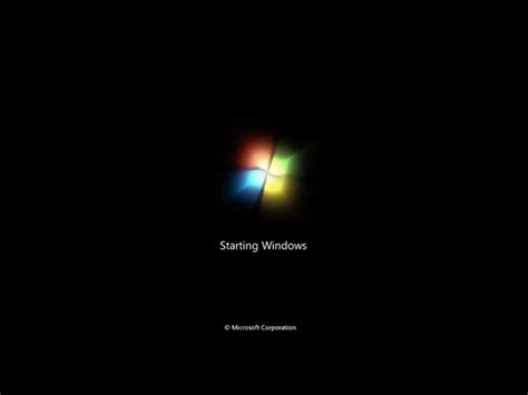 window screens windows 7 boot screen