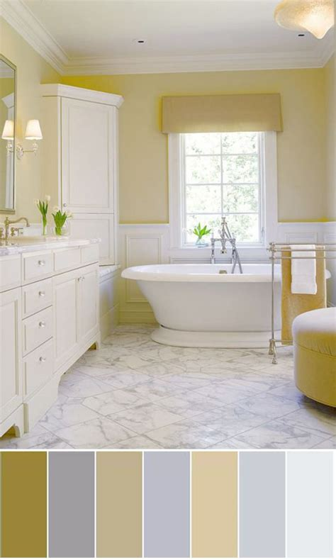 Color Schemes Bathroom by 25 Best Ideas About Yellow Color Schemes On