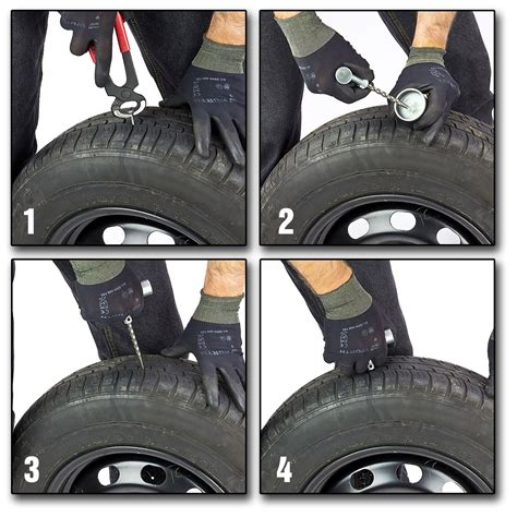 Motorrad Reifen Gleichzeitig Wechseln by Reifenreparatur Set 40 Tlg Mit 30 Vulkanisierungsstreifen