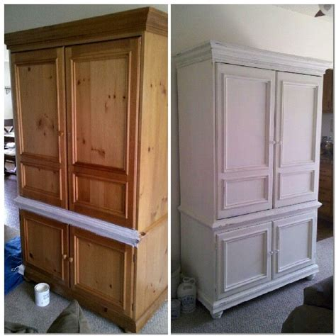 Painted Tv Armoire by 1000 Ideas About Armoire Redo On Armoires Tv