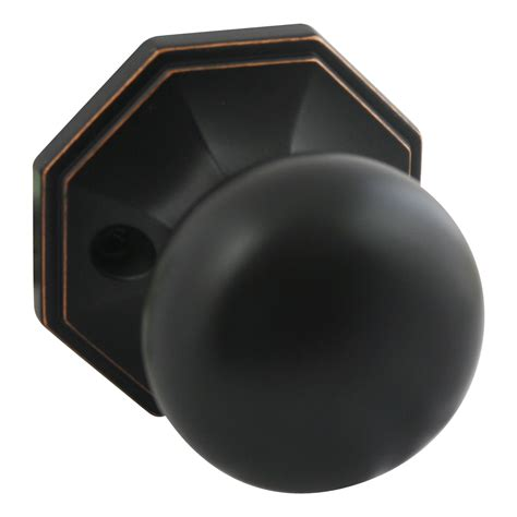Discount Door Knob by Stanton Dummy Discount Door Knob Rubbed Bronze