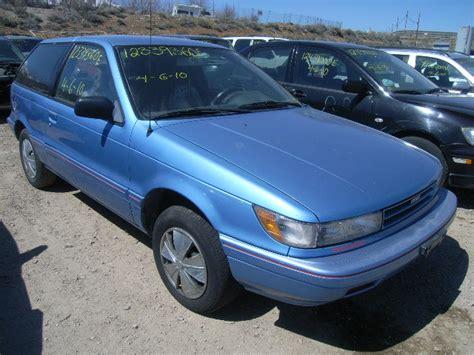 1992 Dodge Colt Jb3cu24a0nu047434 Bidding Ended On 1992 Blue Dodge Colt