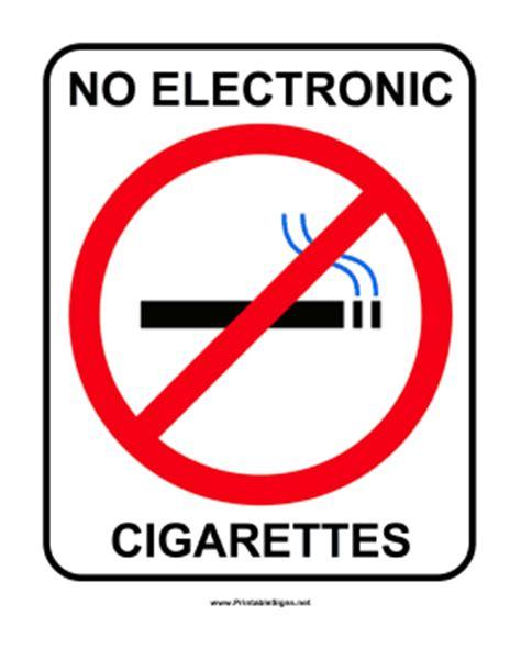 no smoking e cigarettes signs printable printable no e cigarettes sign sign