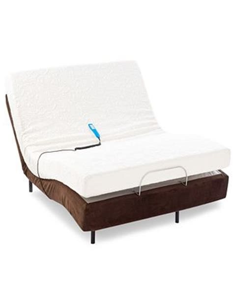 sealy adjustable beds memoryworks by sealy queen mattress set adjustable base