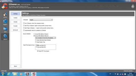 ccleaner temporary files how to securely delete temporary files and cookies using