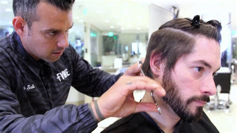 step by step how to cut mens hair with clippers how to cut an asymmetrical undercut hairstyle step by step